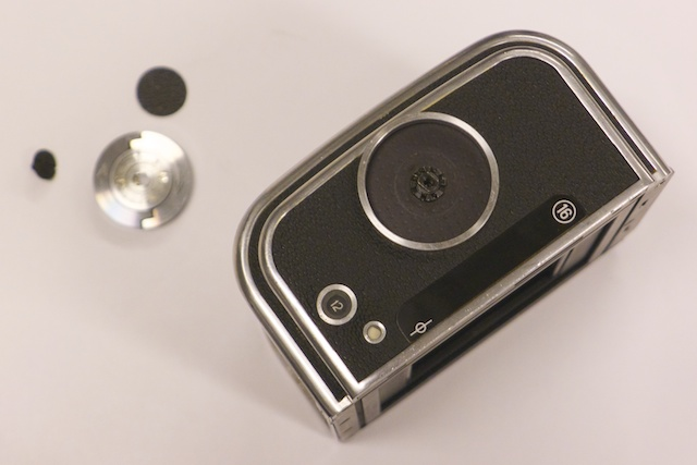 Hasselblad film back: disassembly, cleaning, lubrication