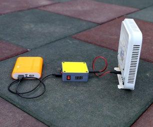 DIY Mini UPS for WiFi Router V4.0