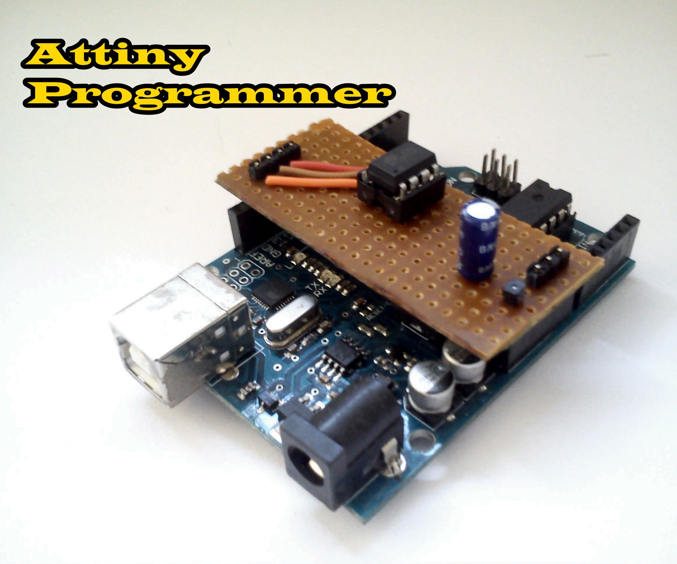 How to program attiny using arduino uno
