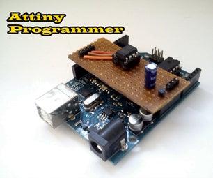 How to Program Attiny Using Arduino Uno