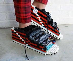 Lego Converse Slides