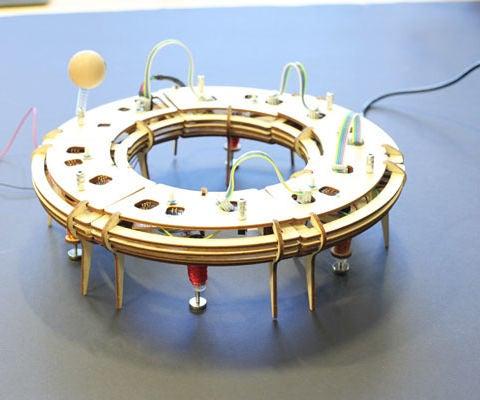 Reconfigurable Tap Dancing Robots