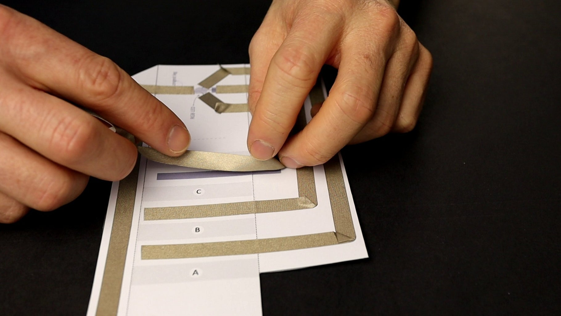 Trace the Circuit With Conductive Tape