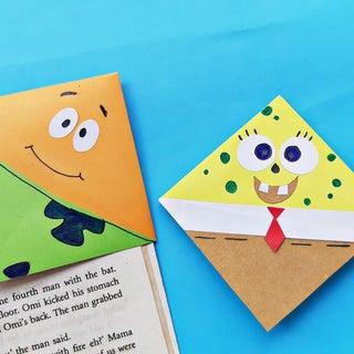 DIY Spongebob Corner Bookmark