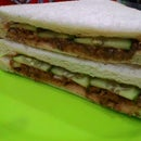 How to make 5 minutes sandwich for camping