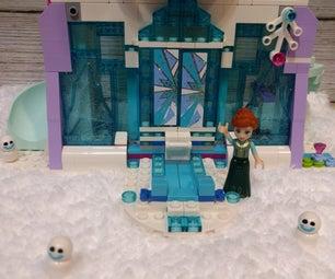 Crochet Fake Snow