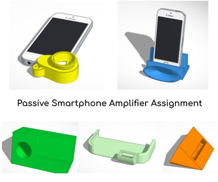 Passive Smartphone Amplifier Assignment
