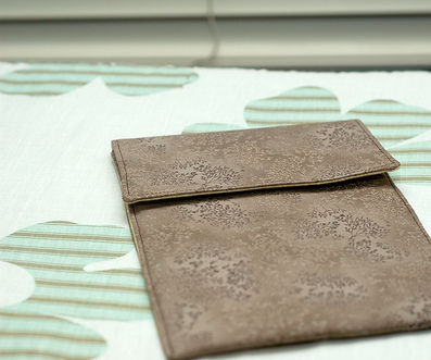 Customized Kindle/iPad Cover, Reuse old cloth