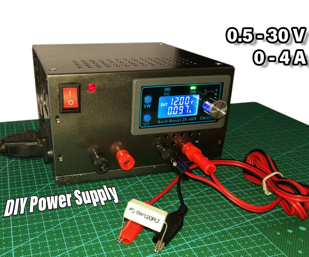 Laboratory Power Supply From Old Atx   8 Steps  With Pictures