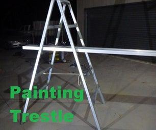 DIY Painting Trestle