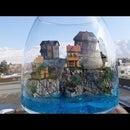 How to Make a Landscape Diorama|Beach Hill Terrarium |Manarola Diorama