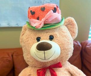 DIY Summer Watermelon Hat