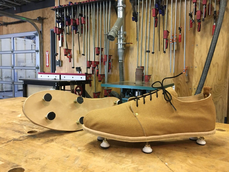 Finishing the Shoe