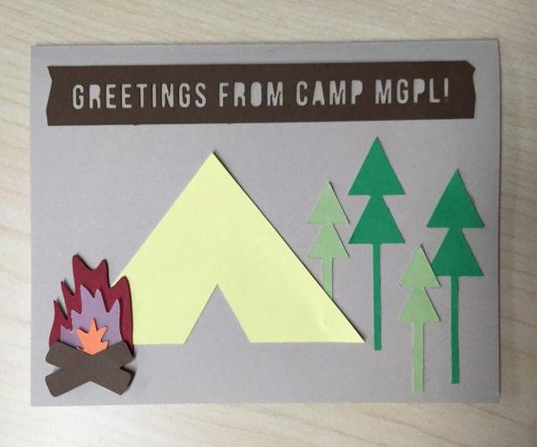 Camp Greeting Card