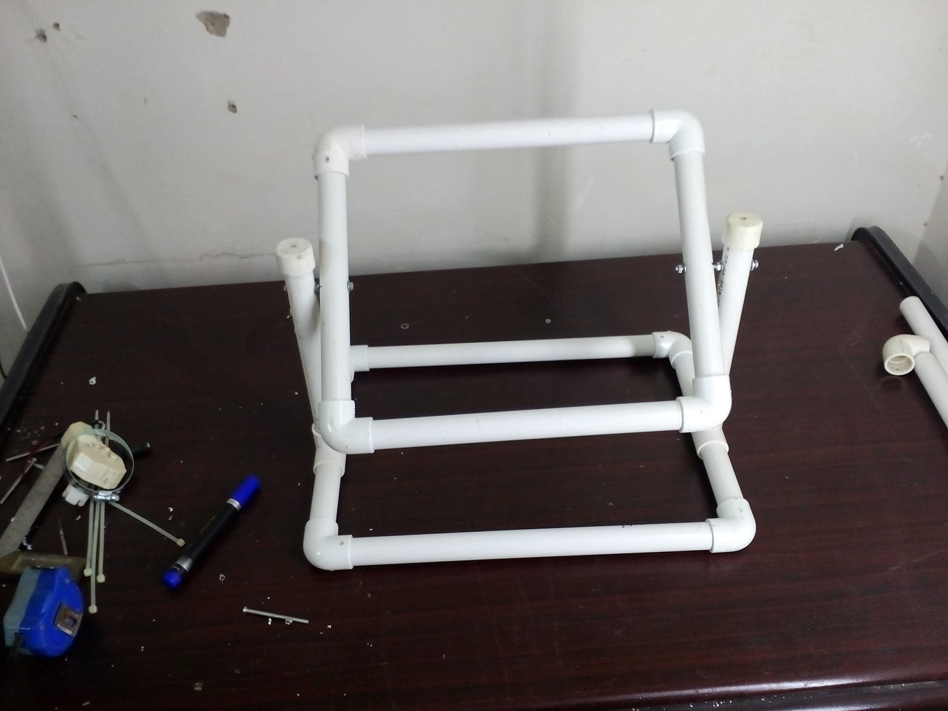 Base and Tray Is Ready Now Make It Swing