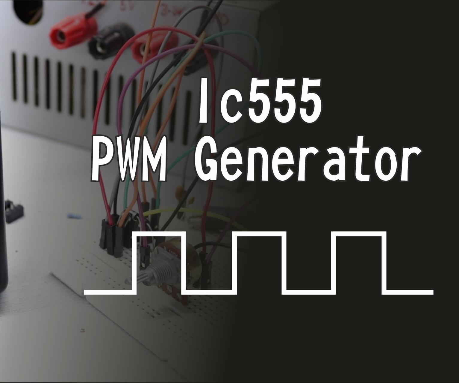 PWM Generator Using IC555!