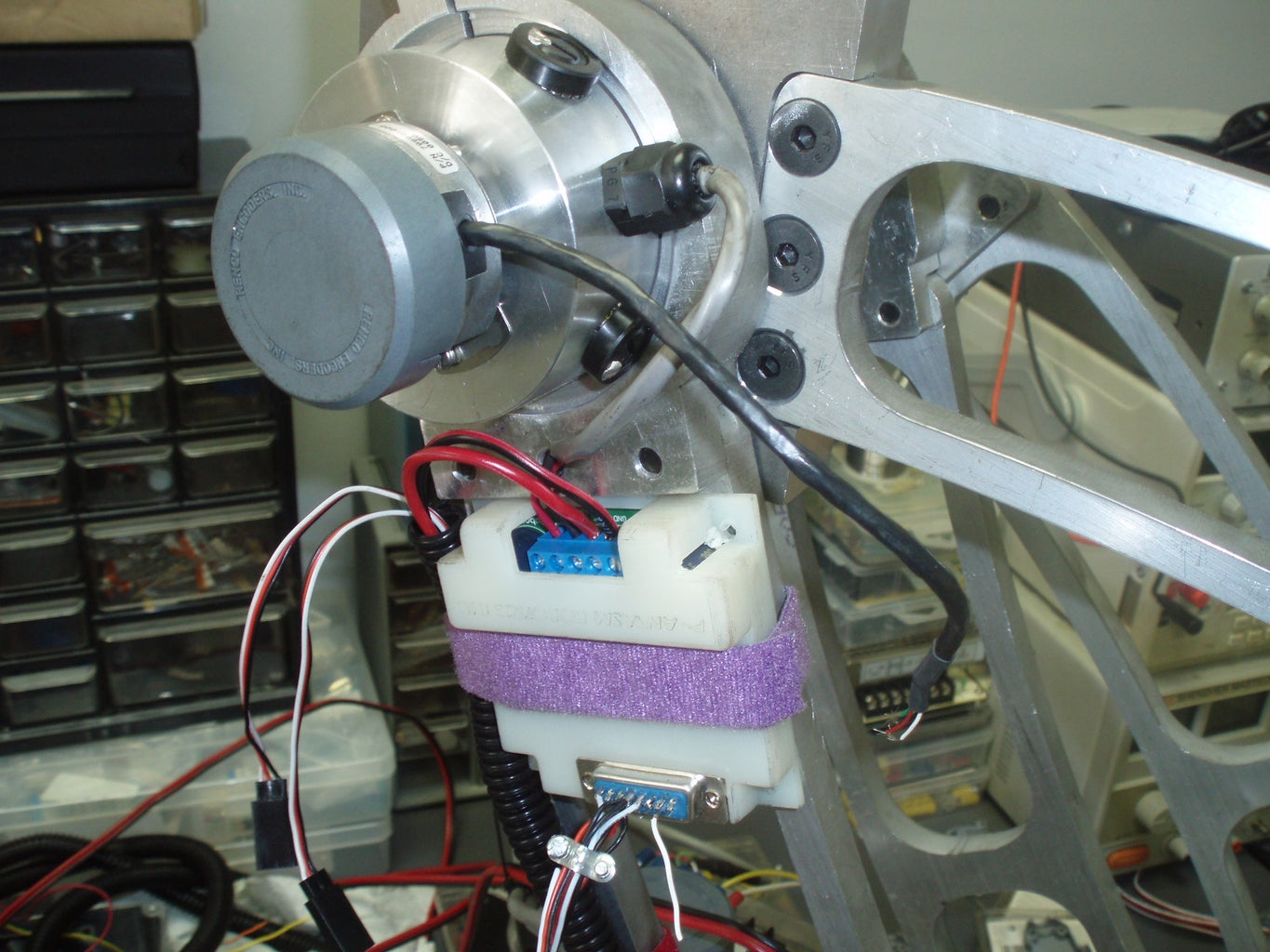Mount Control/wire Looming
