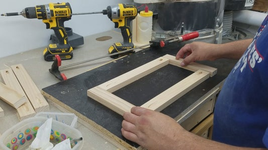 Drawer  Front Construction