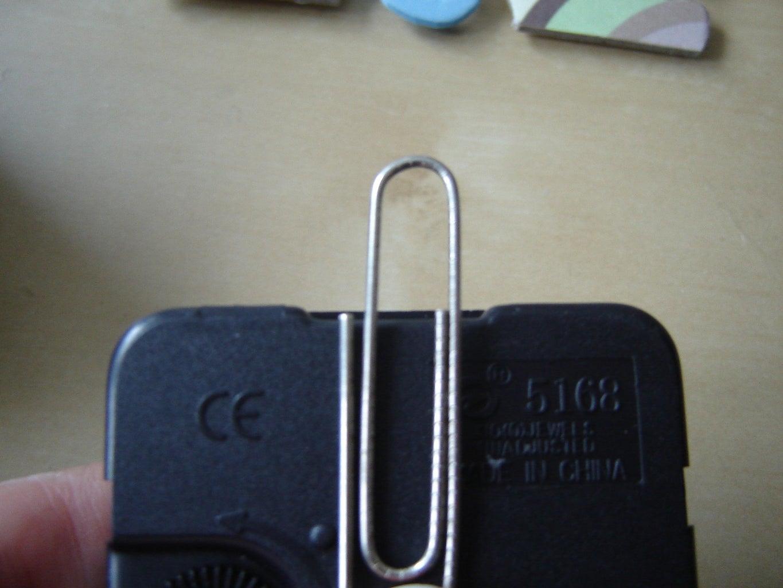 Hook to Hang Clock