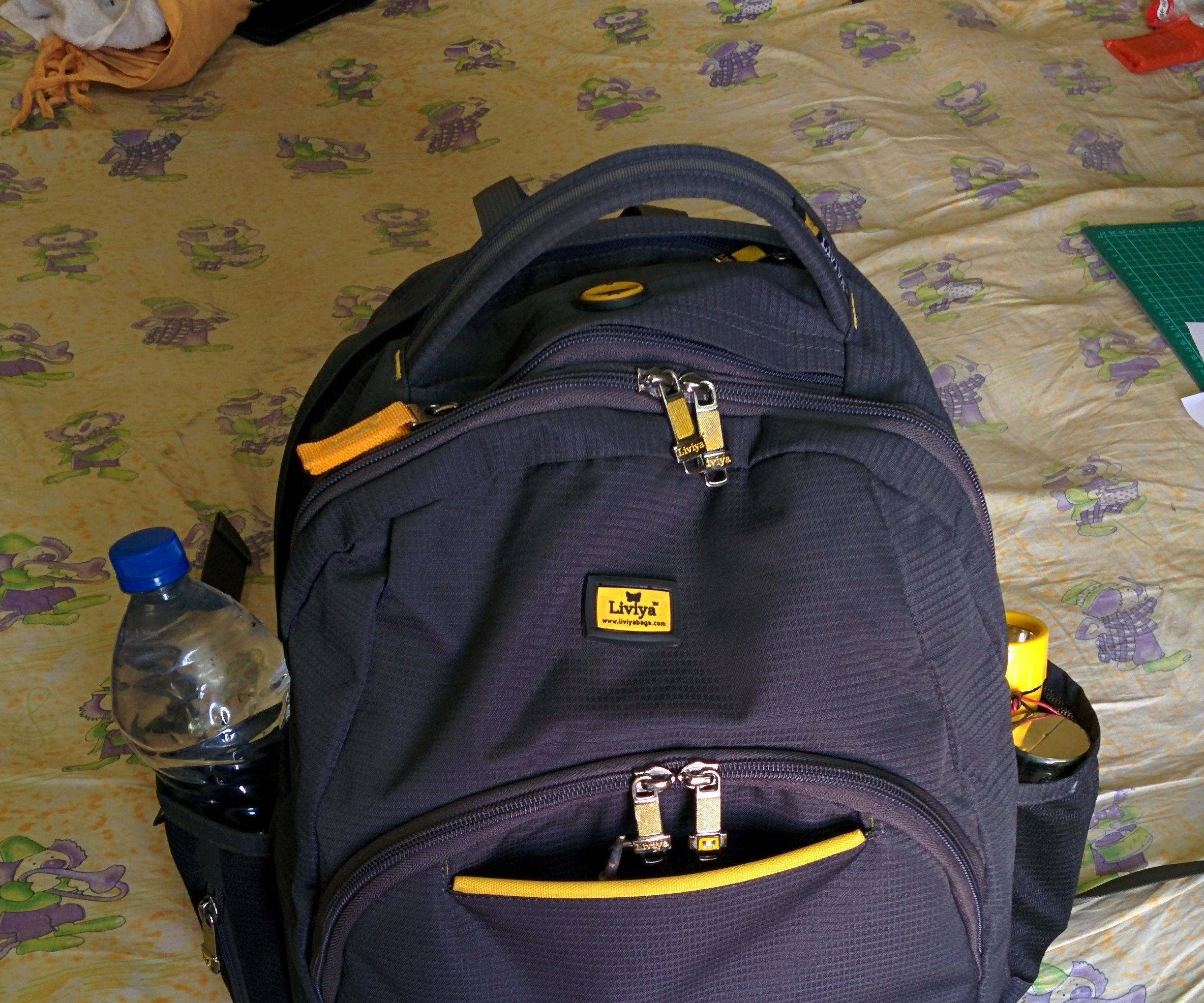 PORTABLE MINI LAB IN A BACKPACK