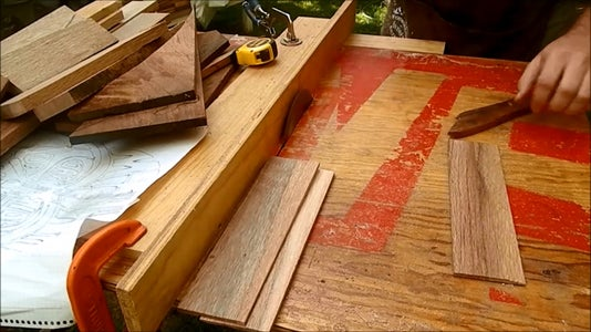 Cut Your Wood Strips