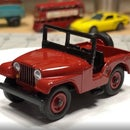 Matchbox Jeep Windshield Replacement