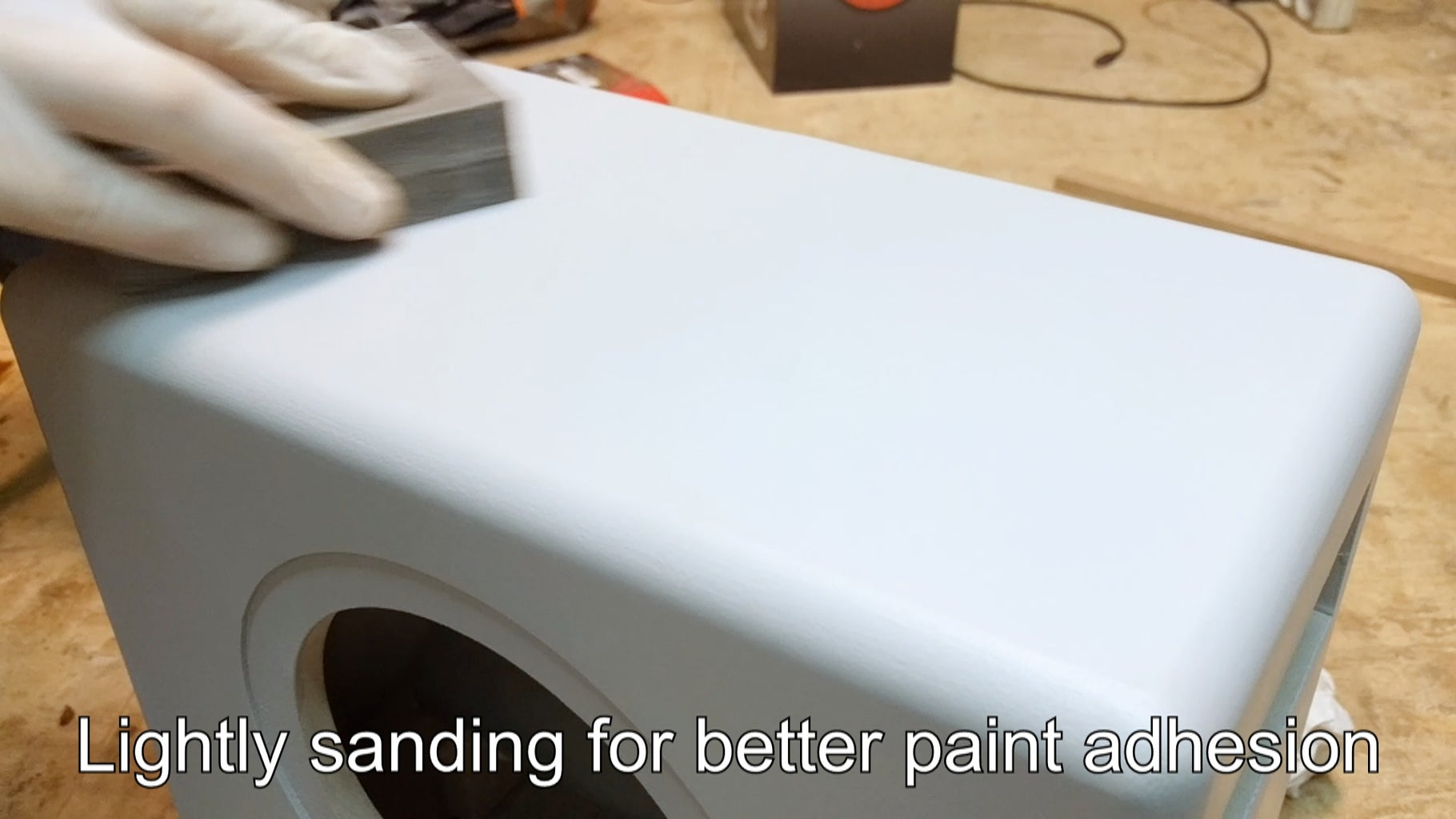 Applying the Paint