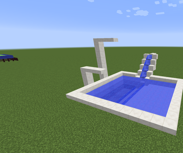 How to Make a Cool Minecraft Pool!