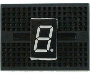 Programming a Single 7 Segment Display