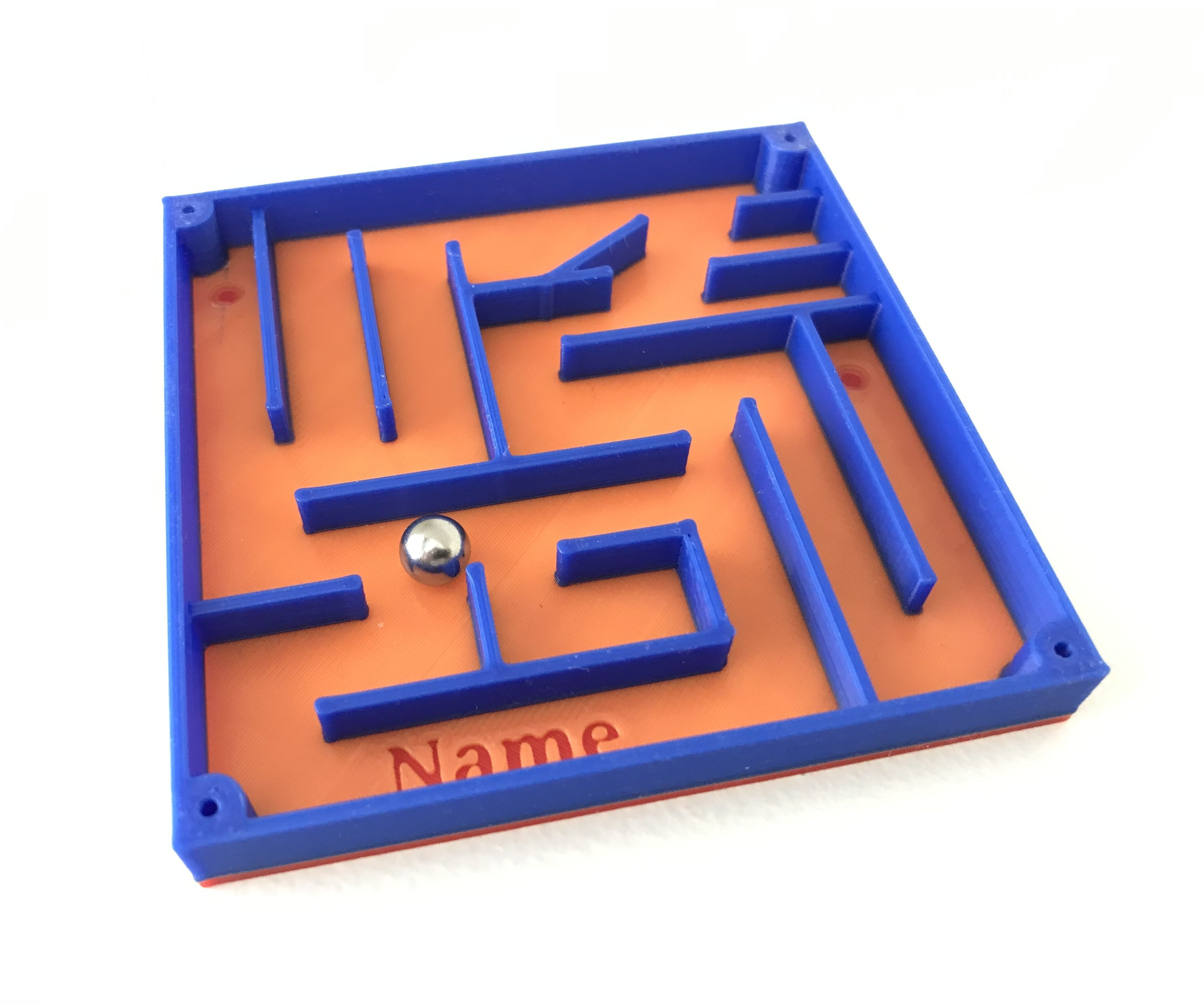 Moving Ball Maze - Tinkercad Student Project