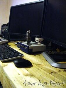 Step 10. - Wax On, Wax Off - Finishing the Desk