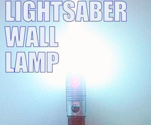 Lightsaber Wall Lamp.