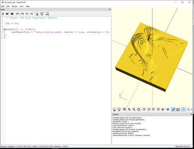 Use OpenSCAD to Make a 3D Model