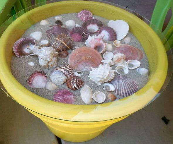 Seashell Outdoor Table