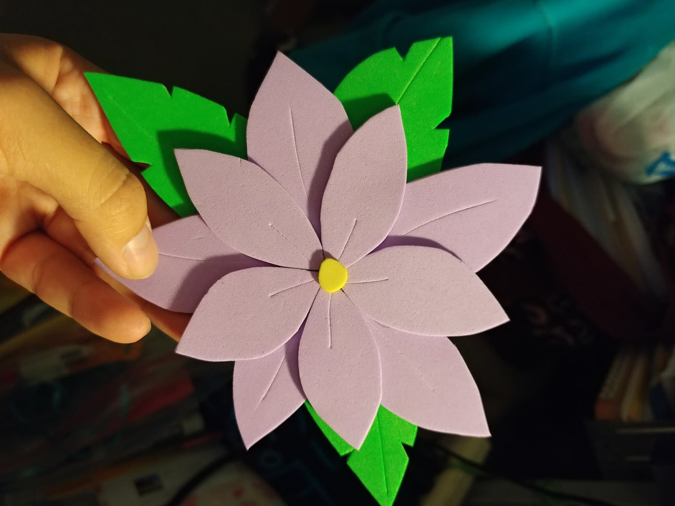 How to Make a Floral Craft Foam Card