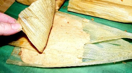 Finally It Is Time to Roll Up Some Tamales!