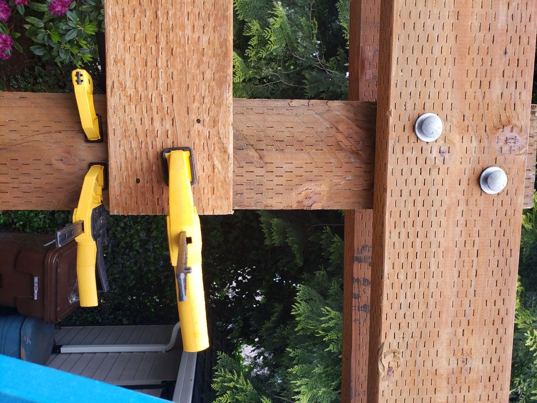 Swing Arbor Board Installation Part 2