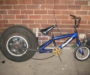 Modified Childrens Bicycle.