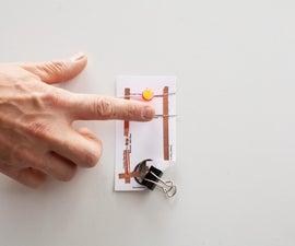 Make a Simple Ambient Light Sensor/Night Light Paper Circuit