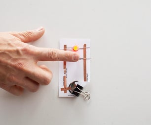 Make a Simple Ambient Light Sensor/Night Light Paper Circuit