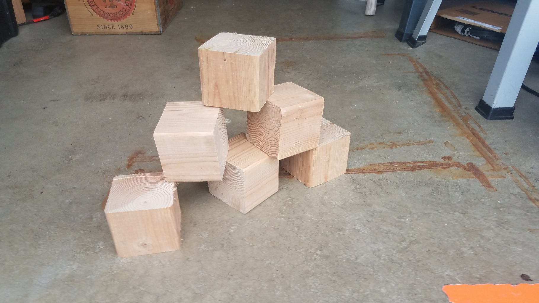 Cut Your Blocks and Make Your Template