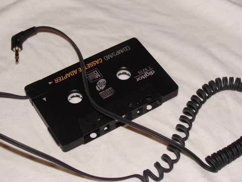 "How to cure car cassette adapter ""auto-reverse flip-flop"""