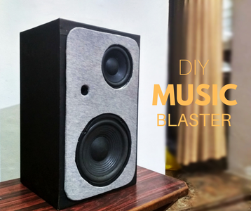 A Great Sounding Bluetooth Speaker Build | Upcycled!