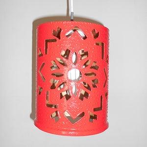 Upcycle Plastic Paint Pot Into Pendant Lamp