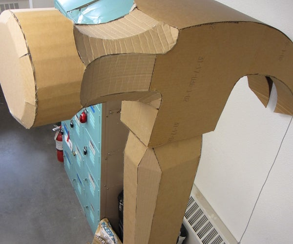 Building Larger Than Life With Cardboard