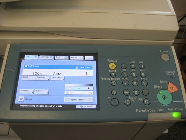 Scanning With the Canon IR 3245 Copier