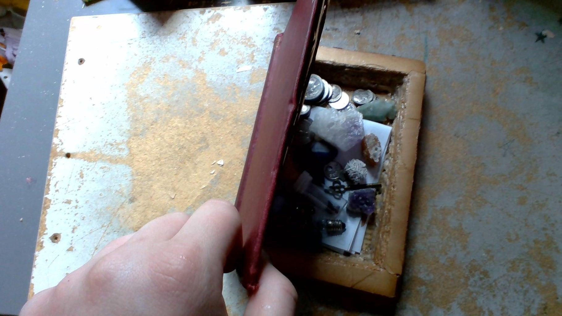Secret Compartment Book Safe