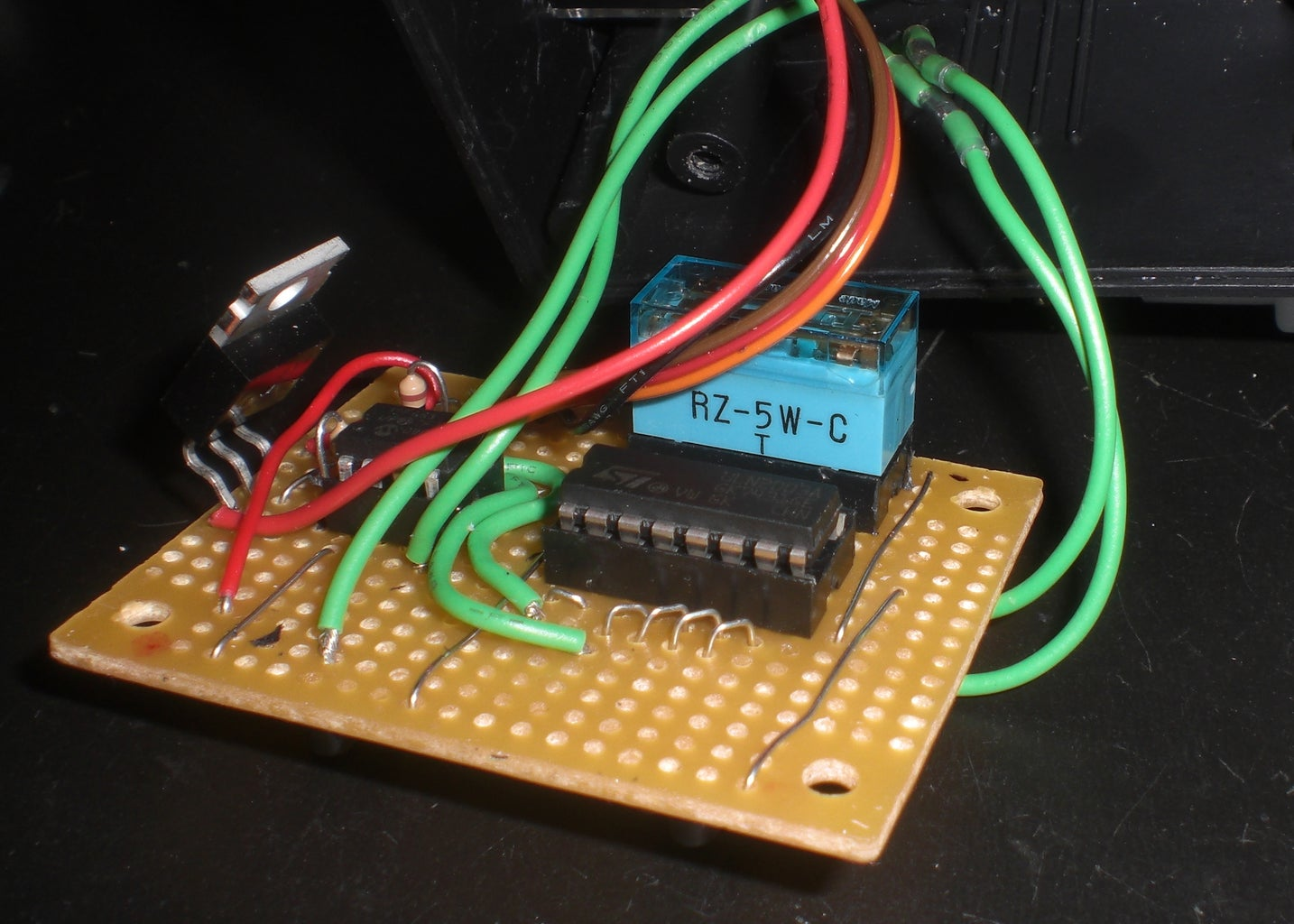 Build the Circuit on the Proto Board