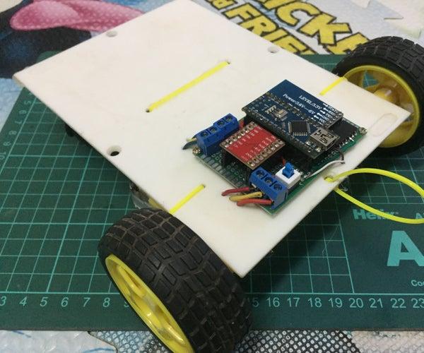Simple Bluetooth RC Car (Arduino Nano + HC-05)