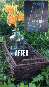 How to Turn Discarded Junk and Vines Into a Woven Basket
